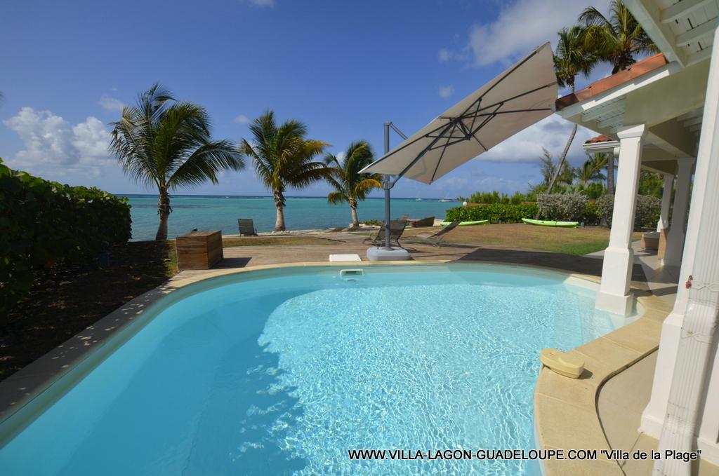 Villa de la Plage Guadeloupe en front de mer